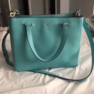 Turquoise kate spade Park Ave 2 Sweetheart Bag